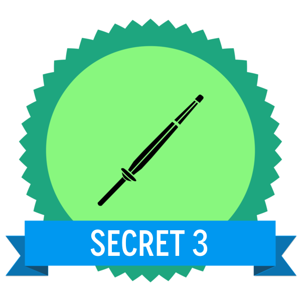 """Badge icon """"Shinai (1913)"""" provided by Umbra7 Design, from The Noun Project under Creative Commons - Attribution (CC BY 3.0)"""