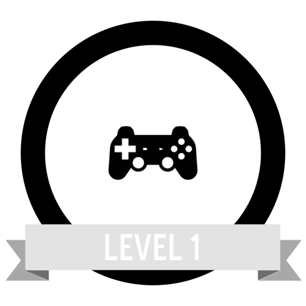 "Badge icon ""Video Game Controller (3473)"" provided by The Noun Project under Creative Commons CC0 - No Rights Reserved"