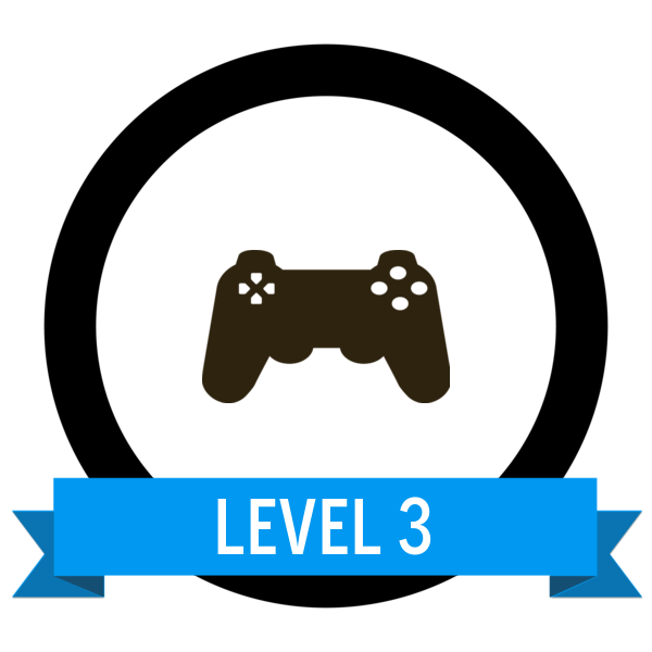 "Badge icon ""Video Game Controller (6623)"" provided by Georg Stephan Habermann, from The Noun Project under Creative Commons - Attribution (CC BY 3.0)"