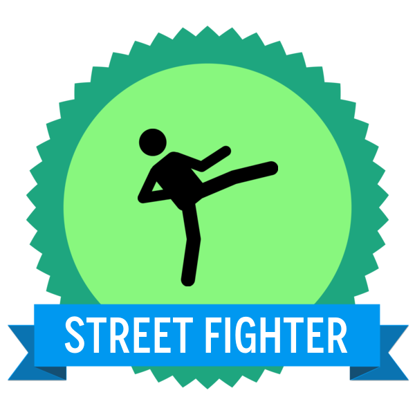 "Badge icon ""Martial Arts (1924)"" provided by The Noun Project under Creative Commons CC0 - No Rights Reserved"