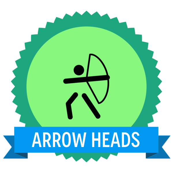 "Badge icon ""Archery (4702)"" provided by Gabriele Fumero, from The Noun Project under Creative Commons - Attribution (CC BY 3.0)"