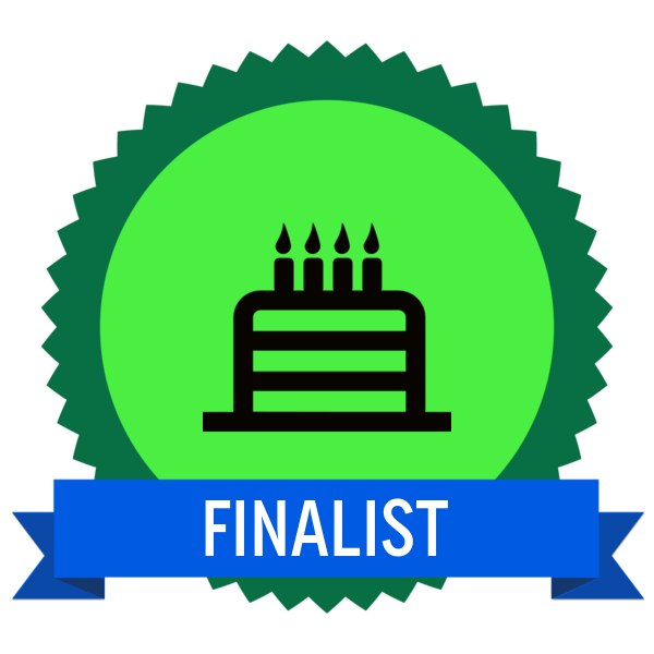 """Badge icon """"Birthday Cake (6406)"""" provided by Mateo Zlatar, from The Noun Project under Creative Commons - Attribution (CC BY 3.0)"""